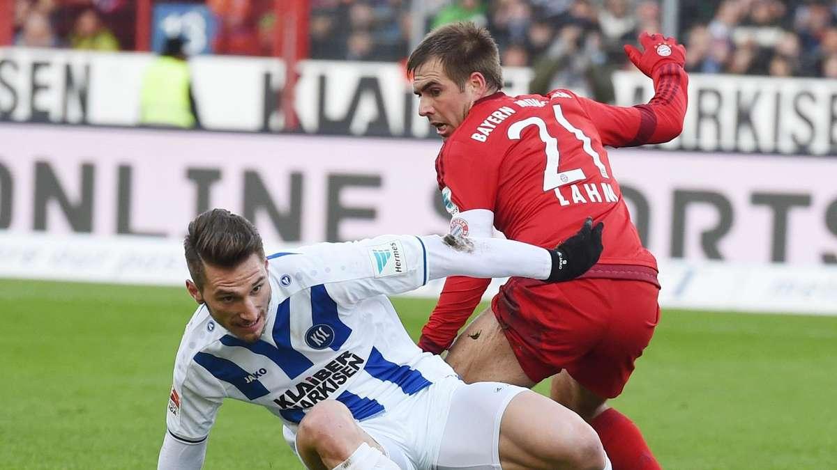 Karlsruhe Gegen Bayern