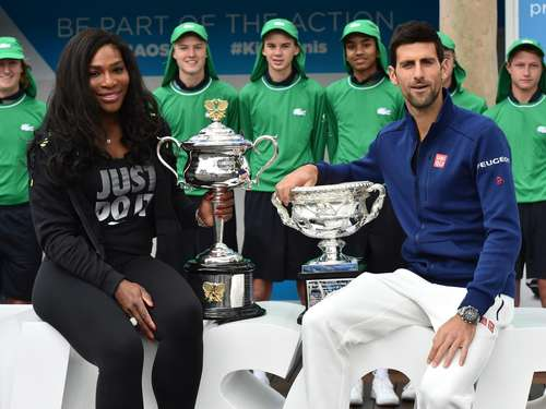 Djokovic und Williams setzen Mission Titelverteidigung fort