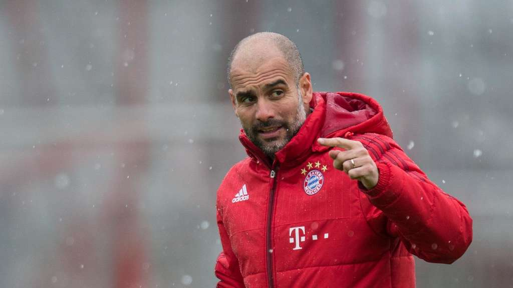 Pep Guardiola, FC Bayern, Triple