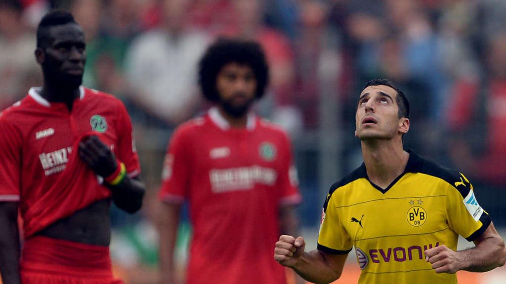 Borussia Dortmund Gegen Hannover 96 Bundesliga Live Im Tv Und Im