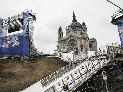 Red Bull Crashed Ice Showdown in Saint Paul