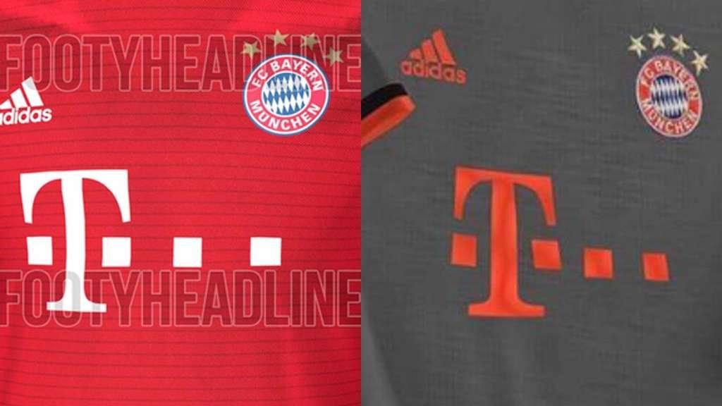 1556332214f2 Einmal traditionell, einmal recht farblos  In diesen Trikots soll der FC  Bayern in der