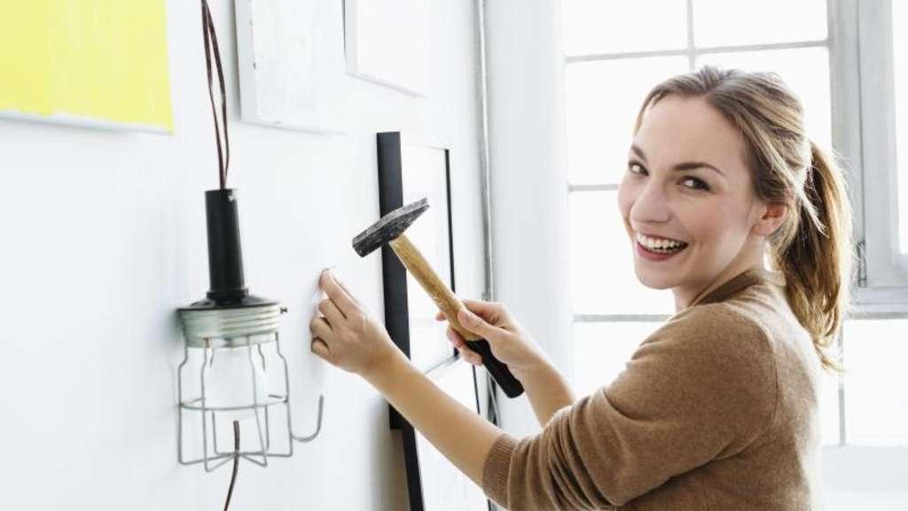 h mmern schrauben d beln sieben tipps f r heimwerker wohnen. Black Bedroom Furniture Sets. Home Design Ideas
