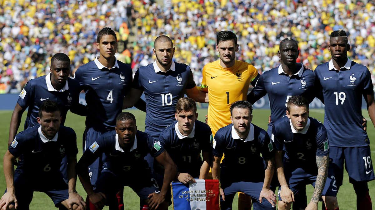 Spieler Frankreich Nationalmannschaft
