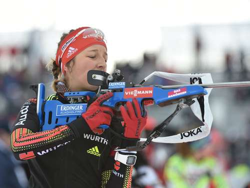 Biathlon-WM: Mixed-Staffel holt Silber