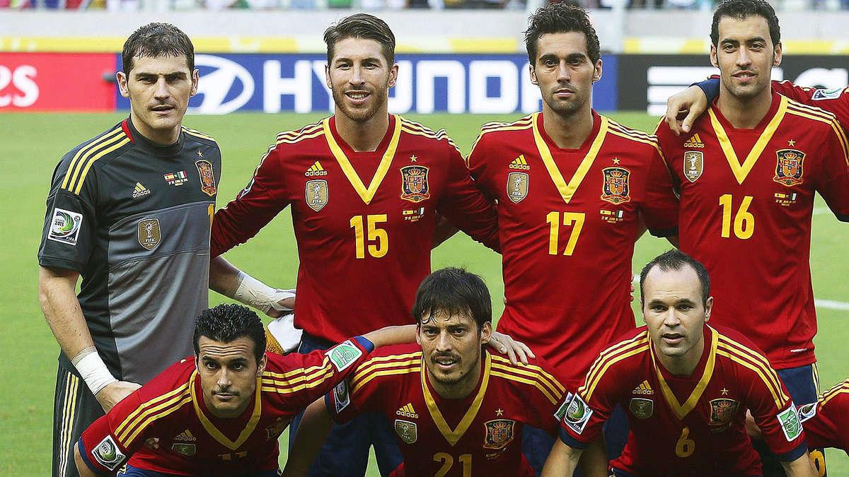 Aufstellung Spanien Kroatien