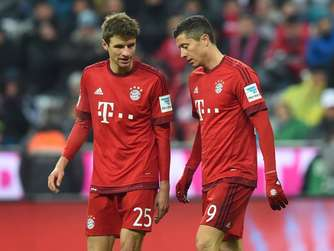 Thomas Müller, Robert Lewandowski