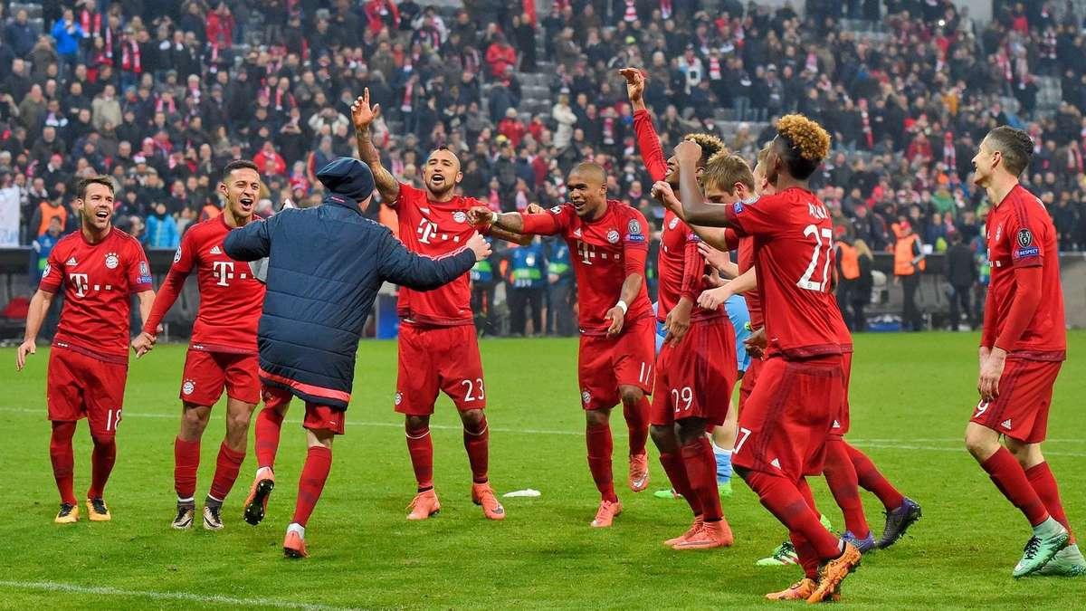 bayer münchen champions league