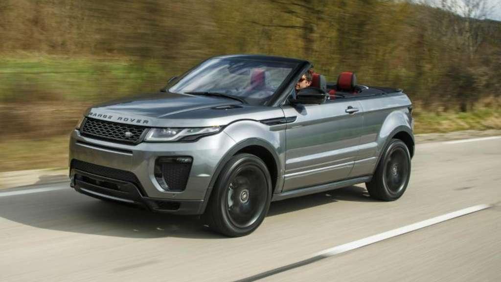 range rover evoque kommt im juni als cabrio auto. Black Bedroom Furniture Sets. Home Design Ideas