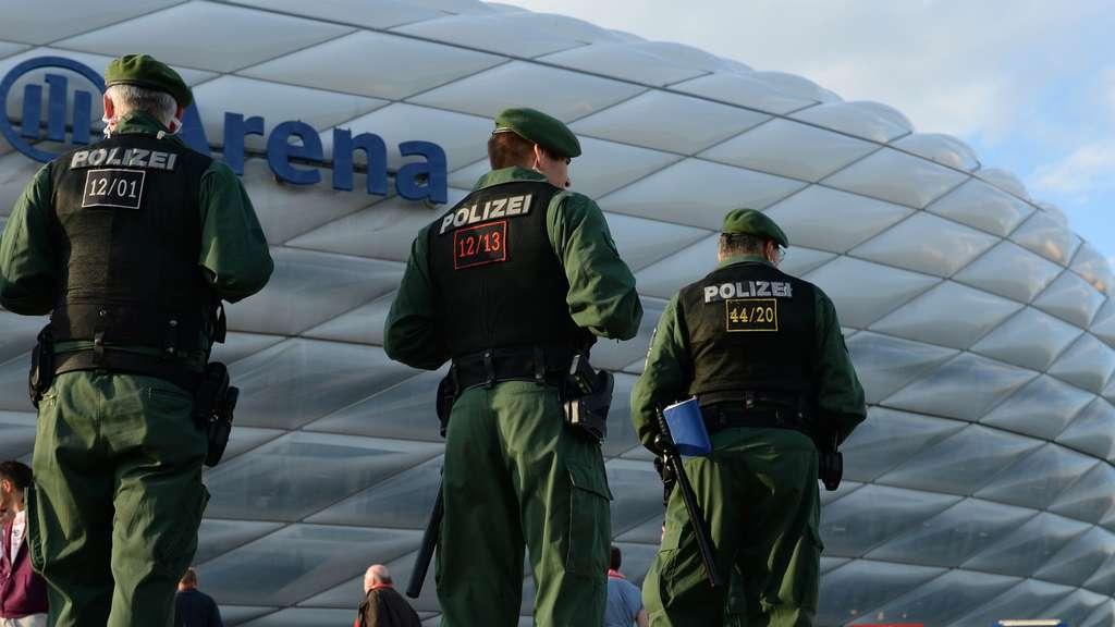 Für die Allianz Arena gilt die höchste Sicherheitsstufe.