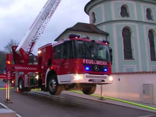 Video: Kirchenbrand in Wörth