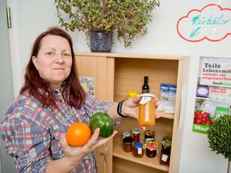 Food-Sharing, Fair-Teiler, Lebensmittel