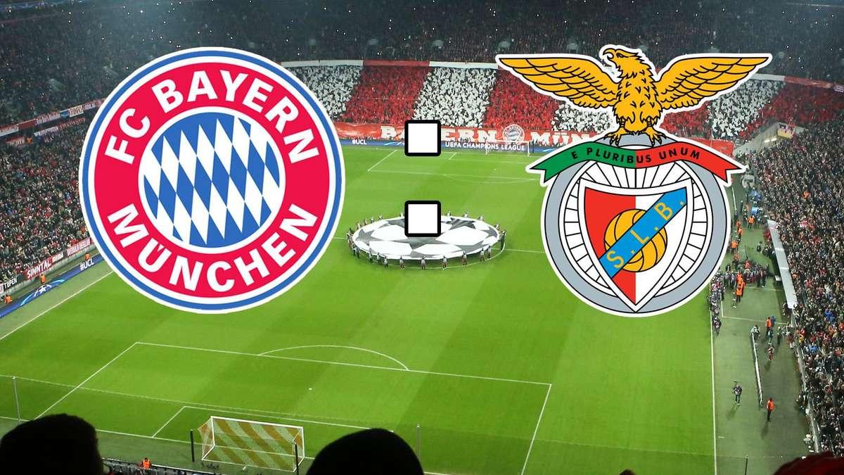 Bayern Benfica Hinspiel