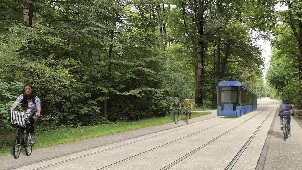 linie durch englischen garten rathaus forciert umstrittenen tram plan schwabing freimann. Black Bedroom Furniture Sets. Home Design Ideas