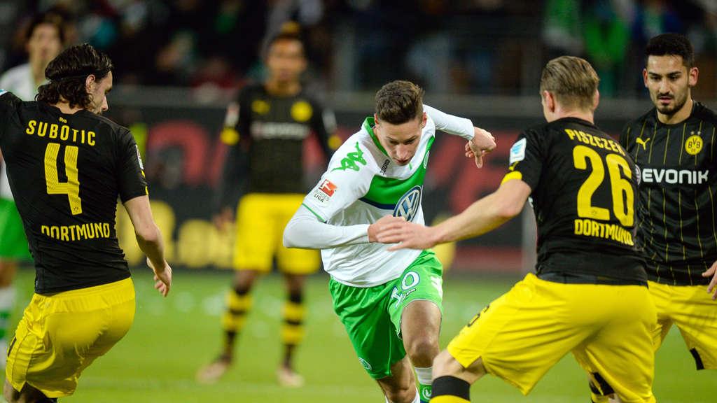 FuГџball Dortmund Wolfsburg