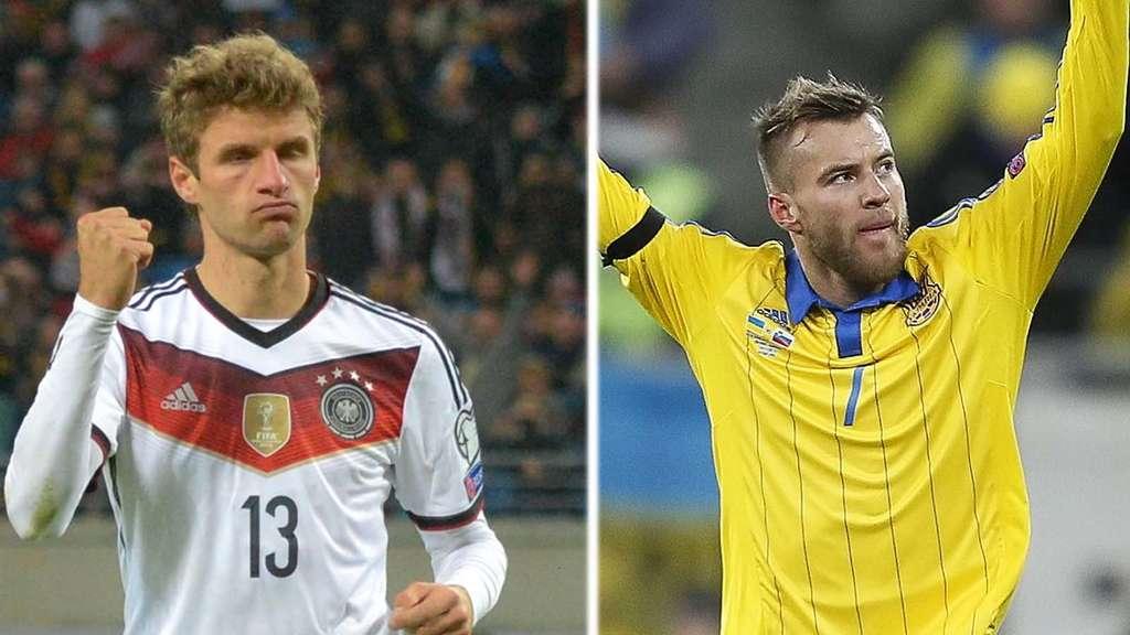 Spielstand Deutschland Gegen Ukraine