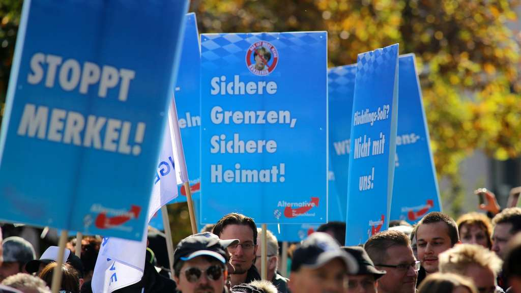 Demonstration der AfD