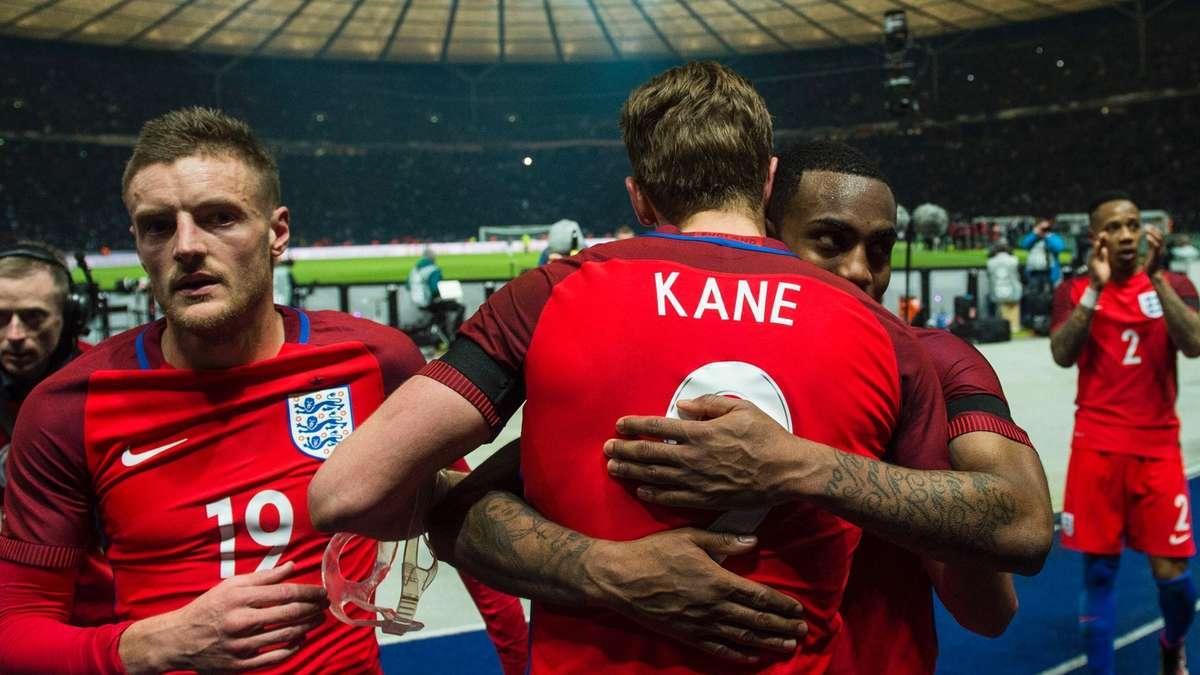 England Kader Em