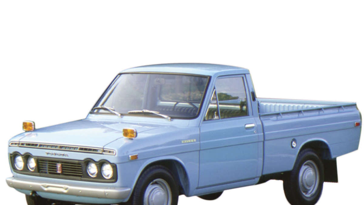 toyota hilux pick up modelle seit 1968 bis 2016 auto. Black Bedroom Furniture Sets. Home Design Ideas