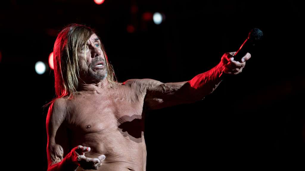 Iggy Pop bei Rockavaria