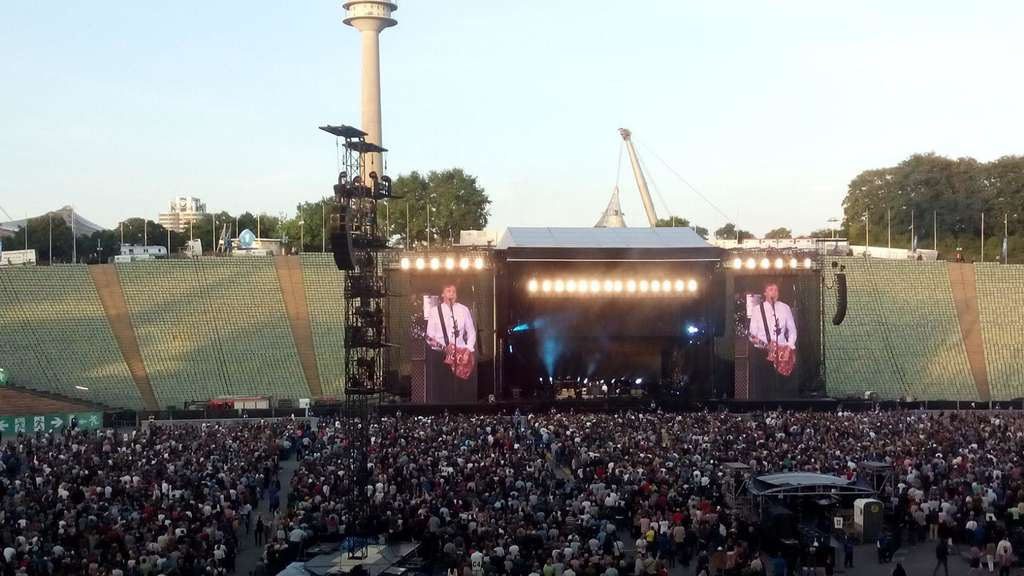 Paul McCartney Olympiastadion München
