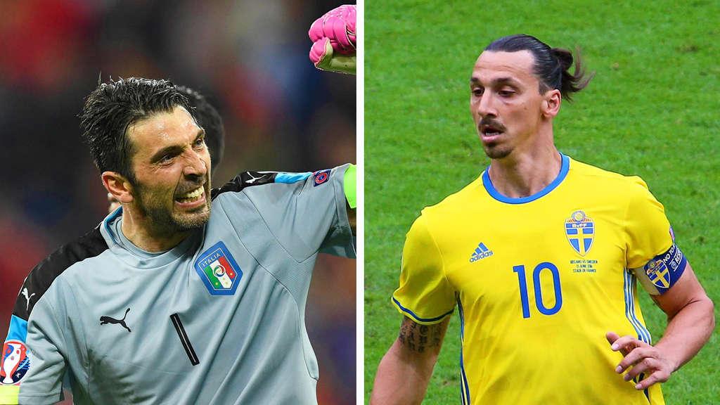 Em 2016 So Sehen Sie Italien Gegen Schweden Jetzt Live Im