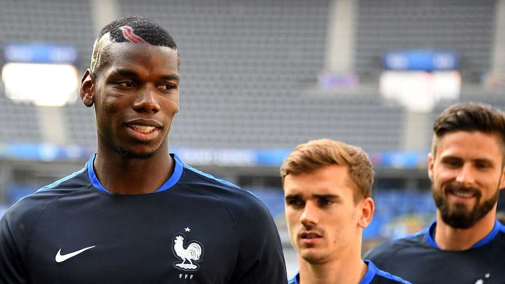 Em 2016 Frankreich Stars Pogba Und Griezmann Suchen Ihre Form Fußball
