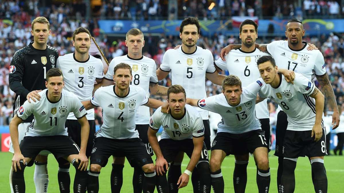 Aufstellung Deutschland Gegen Nordirland