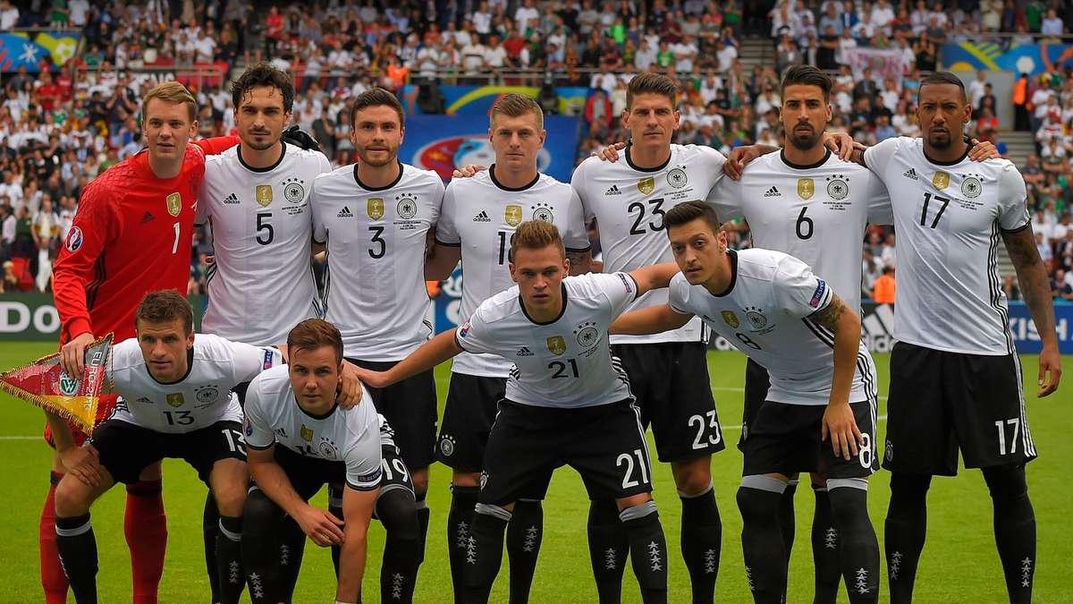 Em Deutschland Aufstellung
