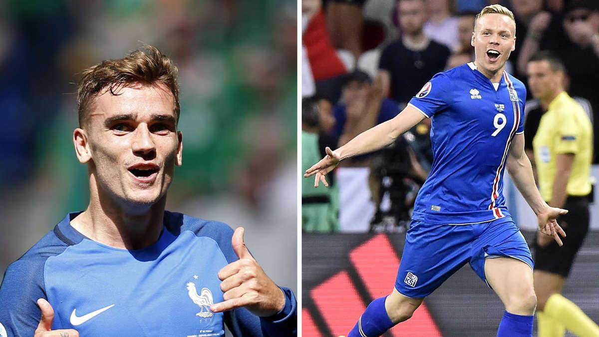 EM 2016: So sehen Sie das Viertelfinale Frankreich gegen ...
