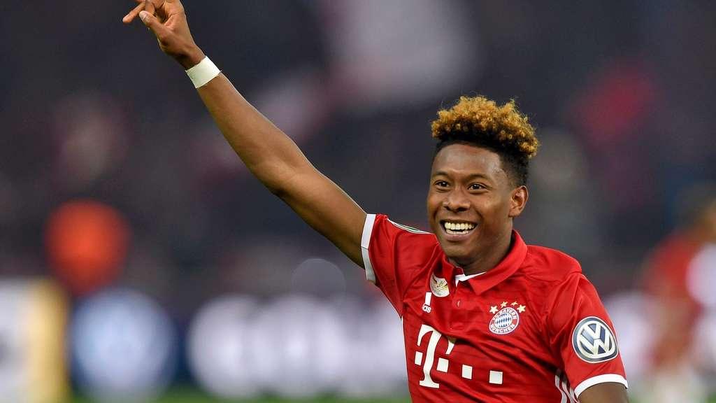 David Alaba Fc Bayern Spieler Mit Neuer Frisur Bei Instagram