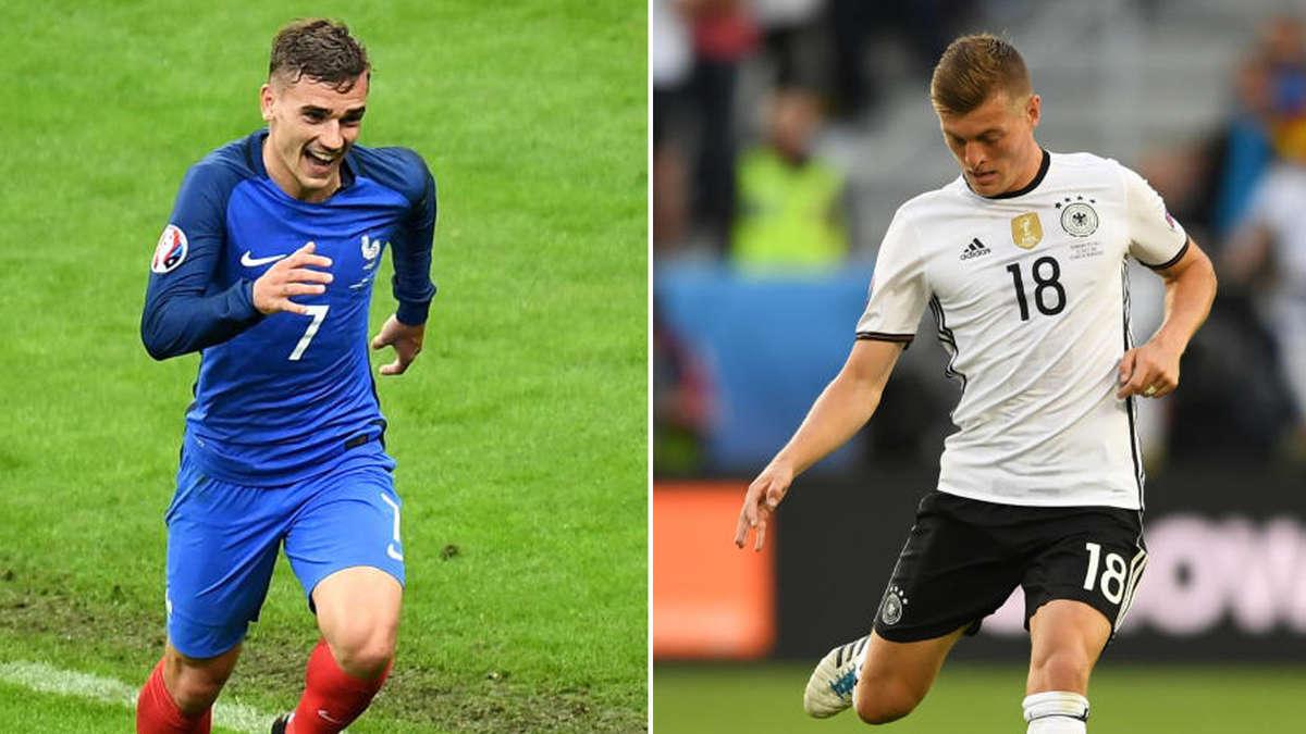fußball deutschland gegen frankreich heute