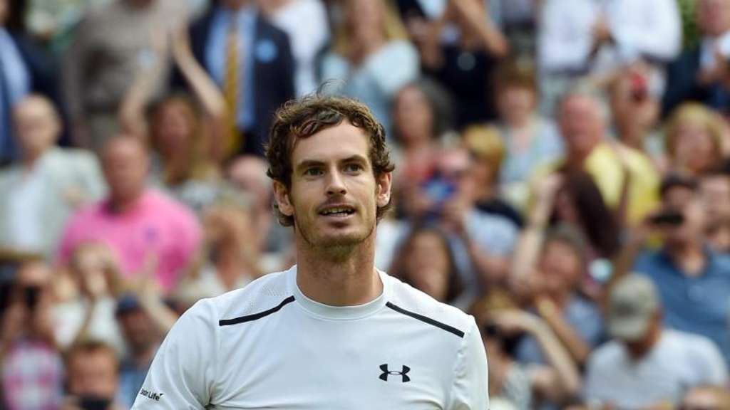 Andy Murray trifft im Wimbledon-Finale auf Milos Raonic. Foto: Gerry Penny