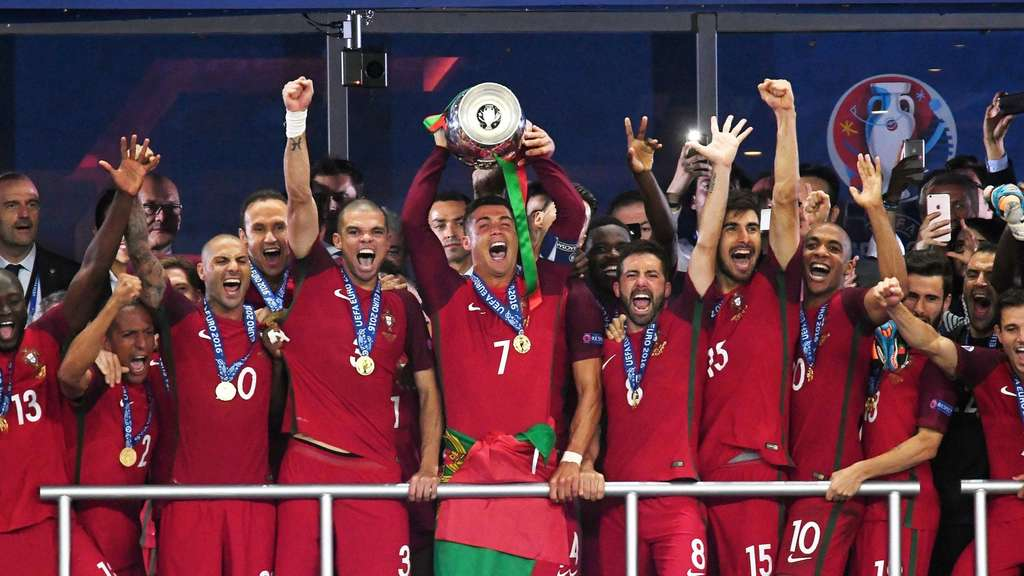 Portugal Frankreich Em