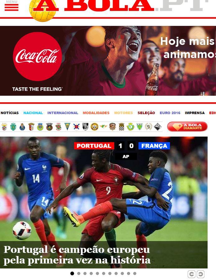 Pressestimmen Portugal Frankreich