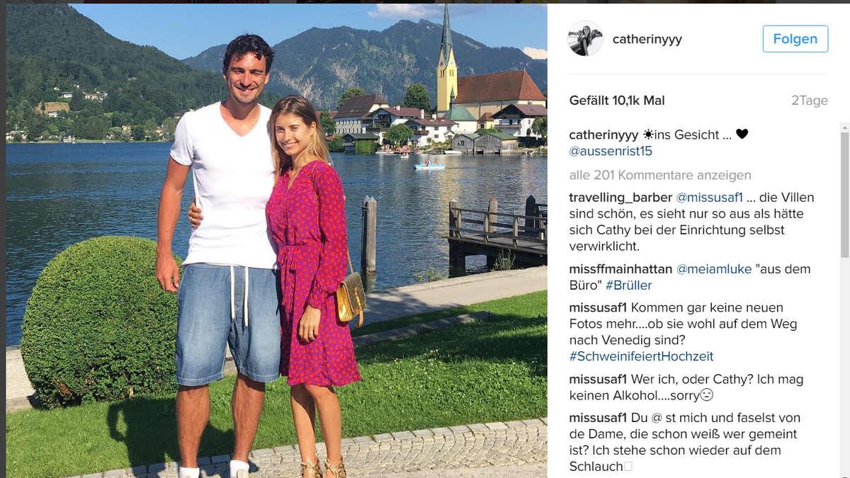 Mats Hummels macht mit Freundin Urlaub am Tegernsee