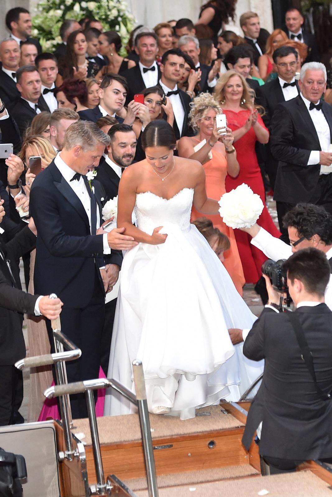 Hochzeit Von Bastian Schweinsteiger Und Ana Ivanovic In Venedig