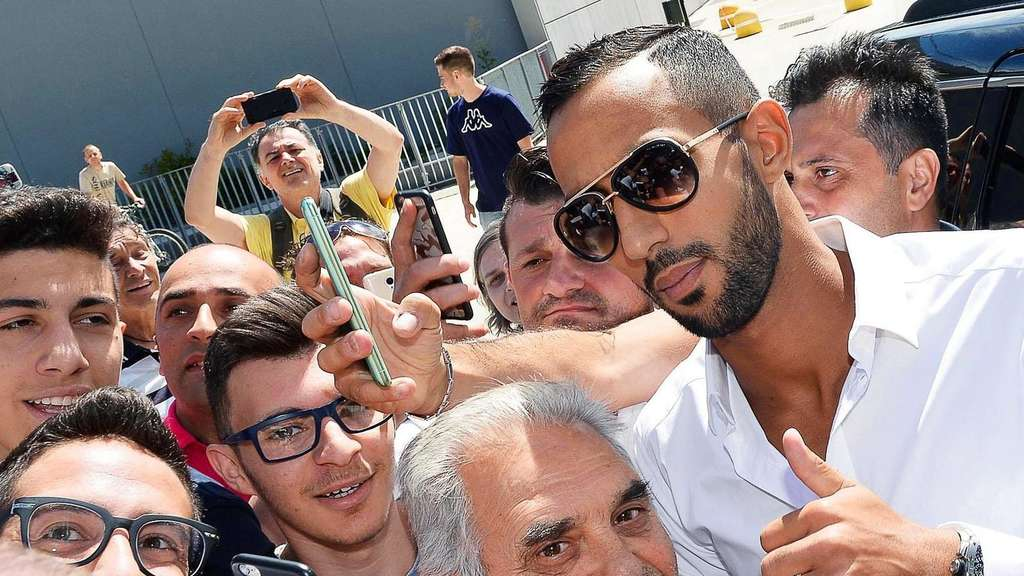 New Juventus player Mehdi Benatia