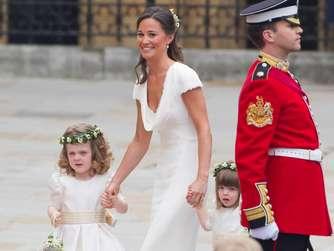 Pippa Middleton sorgte mit diesem Kleid bei der Hochzeit ihrer ...