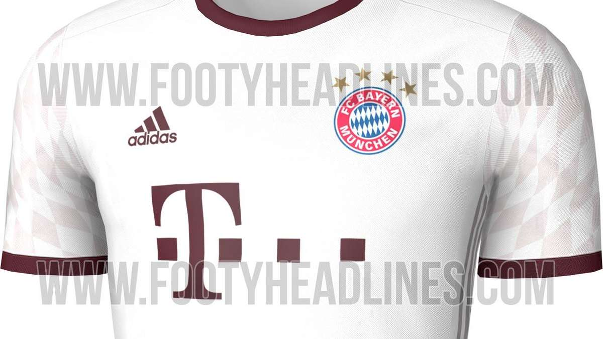 das soll das neue dritte trikot des fc bayern 2016 2017. Black Bedroom Furniture Sets. Home Design Ideas