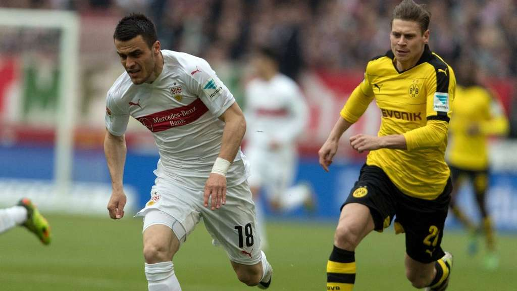 Filip Kostic in Aktion.