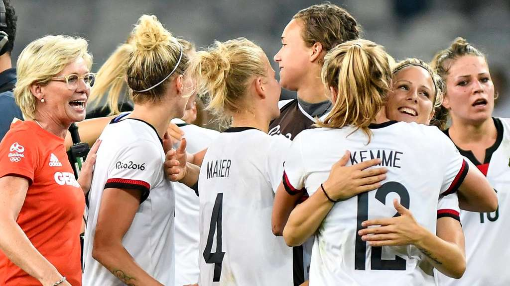 frauenfußball olympia live