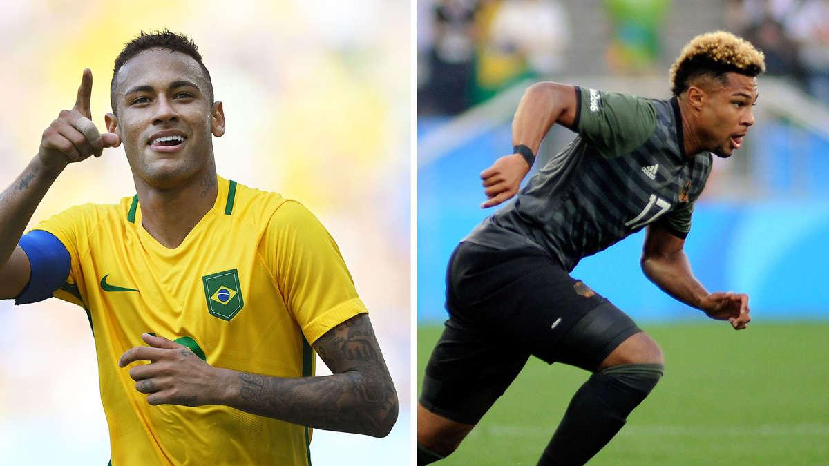 brasilien deutschland olympia