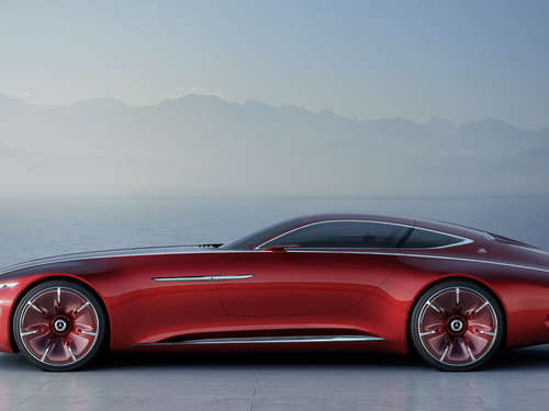 Very Wow! Vision Mercedes-Maybach 6