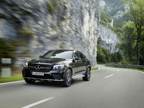 Cooler Typ! Das Mercedes AMG GLC 43 4Matic Coupé