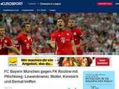 Internationale Pressestimmen, FC Bayern, FK Rostow