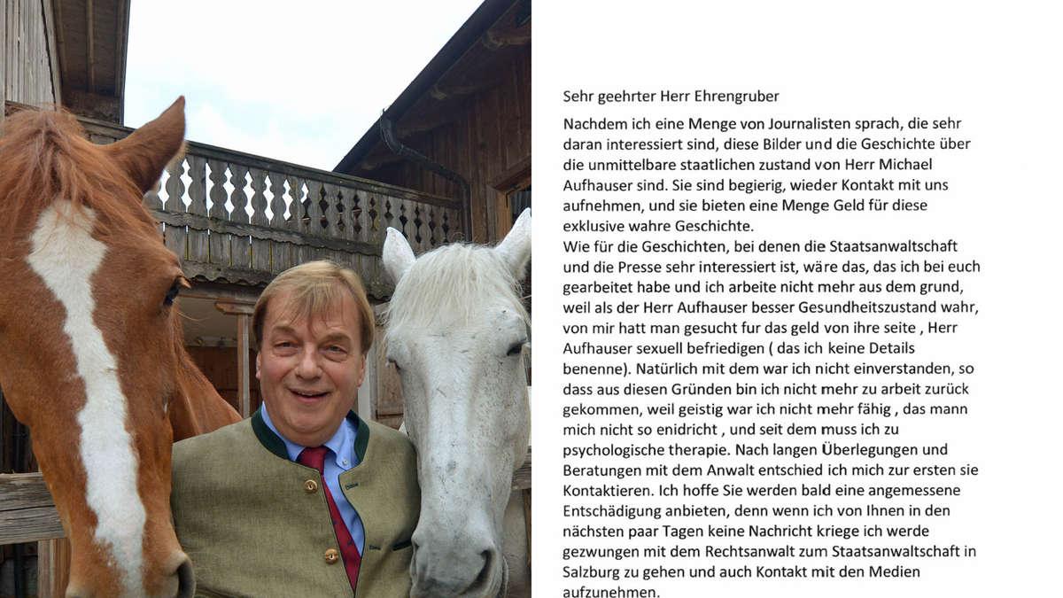 Michael Aufhauser Krank