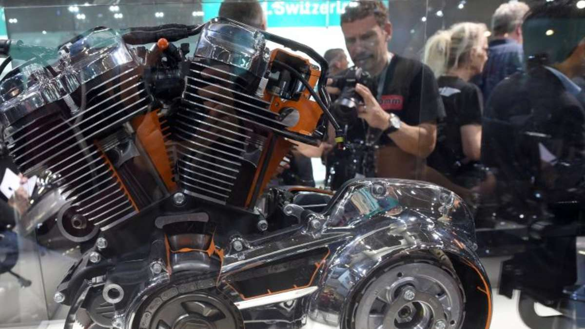 Harley Davidson Mit Neuem Motor Milwaukee Eight Auto