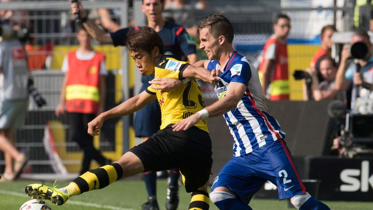 hertha dortmund stream