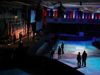 Trump Campaign Prepares For Election Night Event